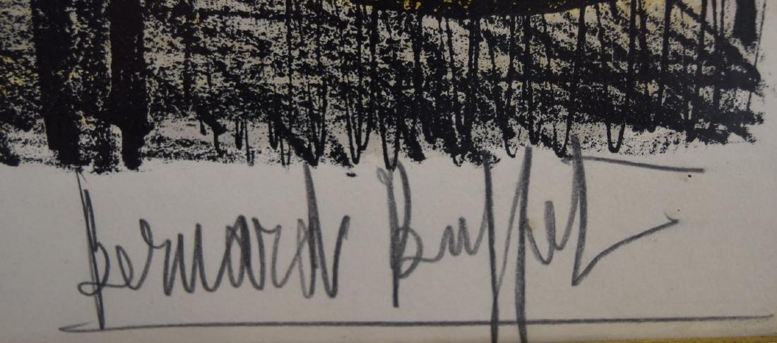 Bernard Buffet; 20thC. Color Lithograph Signed - 4