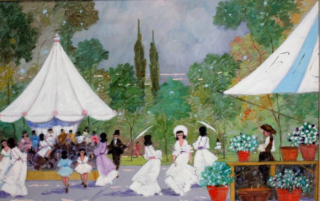Luigi Cagliani; 20thC. Italian Oil Painting Signed