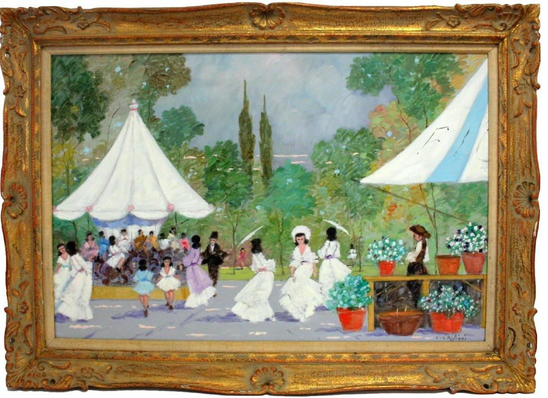 Luigi Cagliani; 20thC. Italian Oil Painting Signed - 2