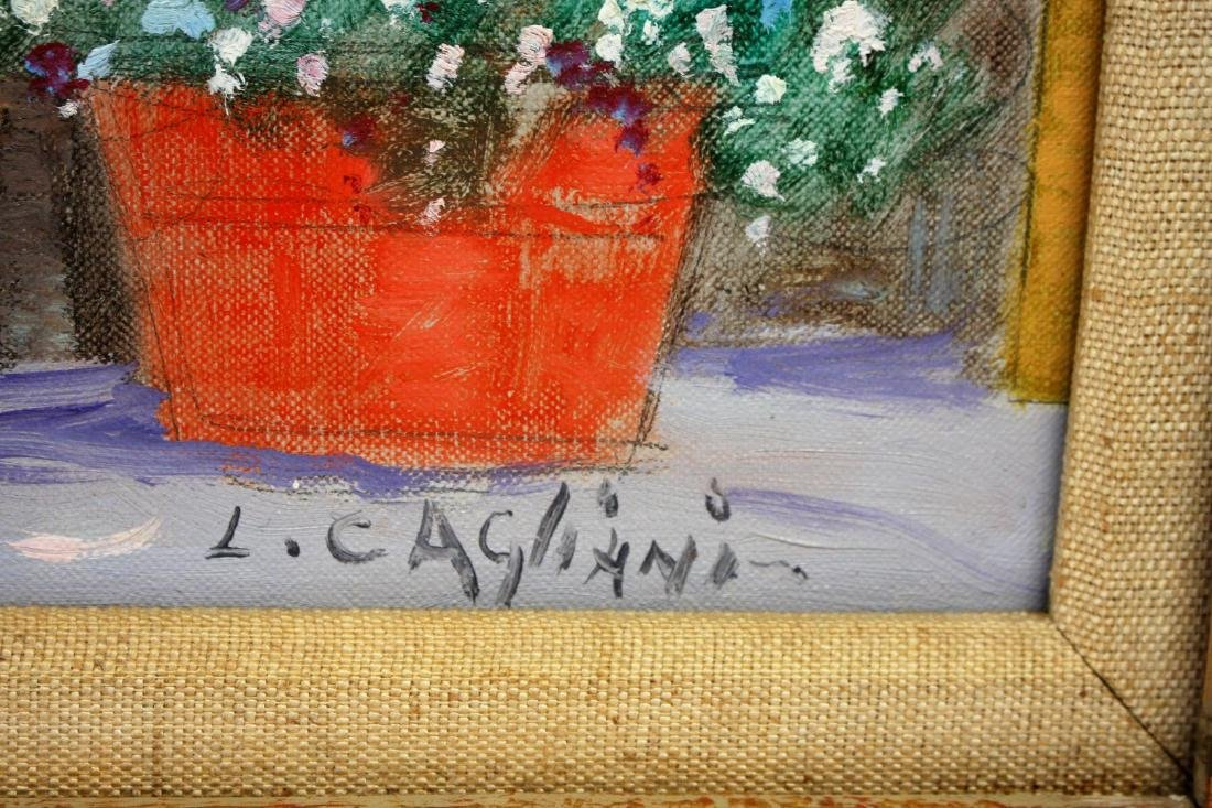 Luigi Cagliani; 20thC. Italian Oil Painting Signed - 3