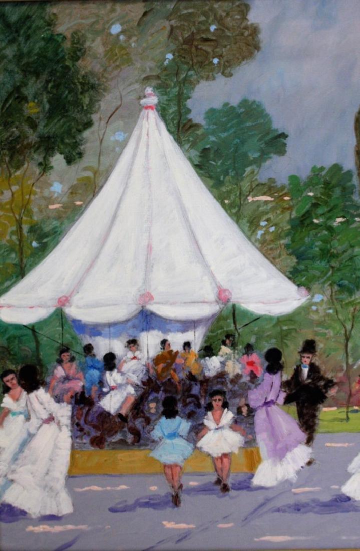 Luigi Cagliani; 20thC. Italian Oil Painting Signed - 4
