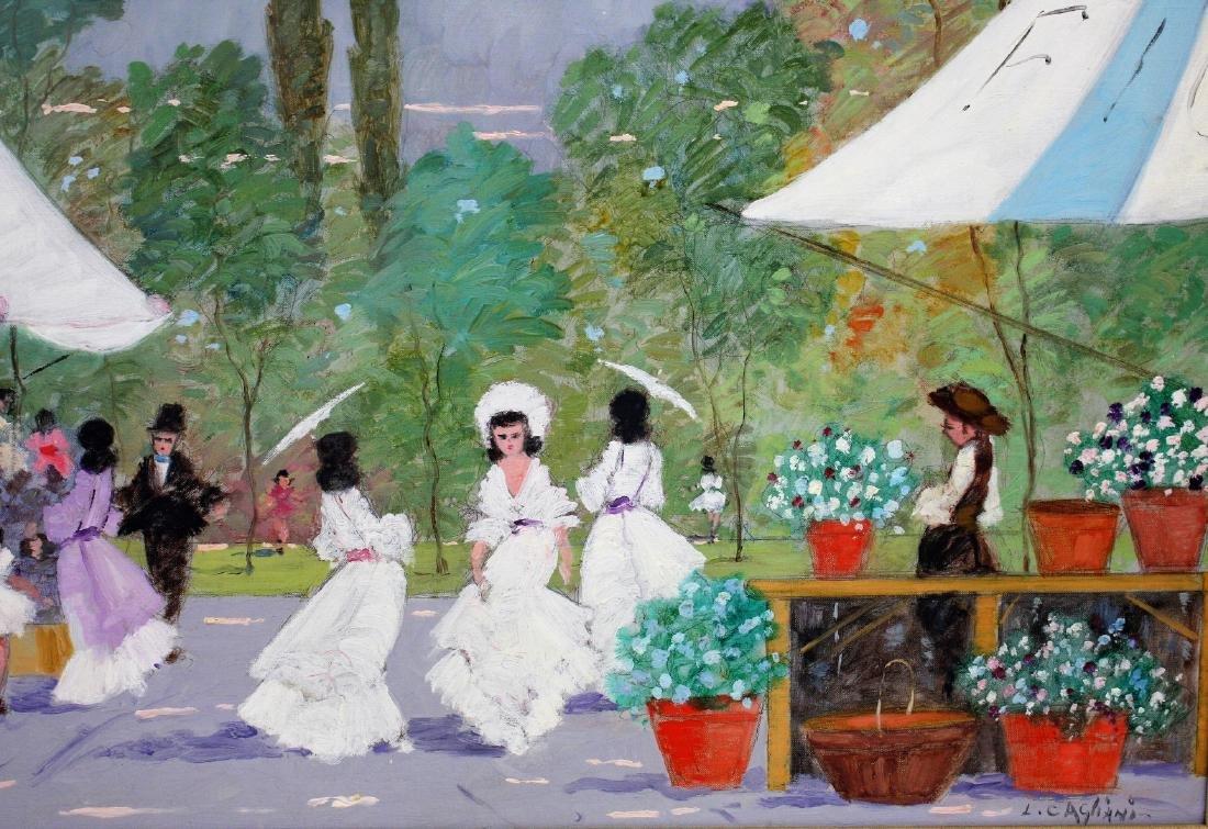 Luigi Cagliani; 20thC. Italian Oil Painting Signed - 5