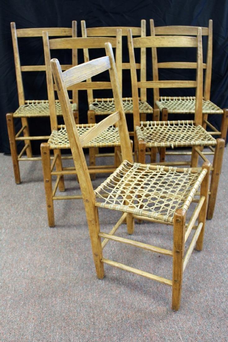 Set of Six(6) Adirondack Chairs - 4
