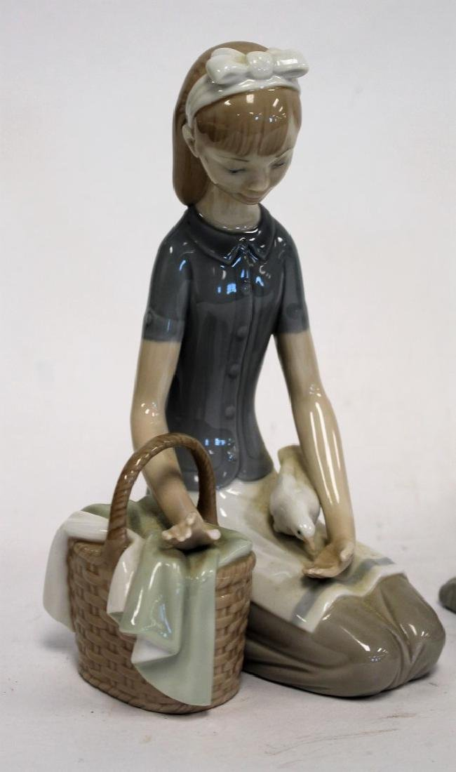 Three(3) Lladro Porcelain Figurines - 2