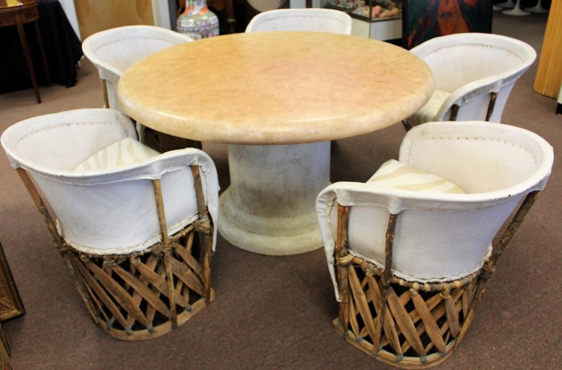 Unusual South American Dining Set