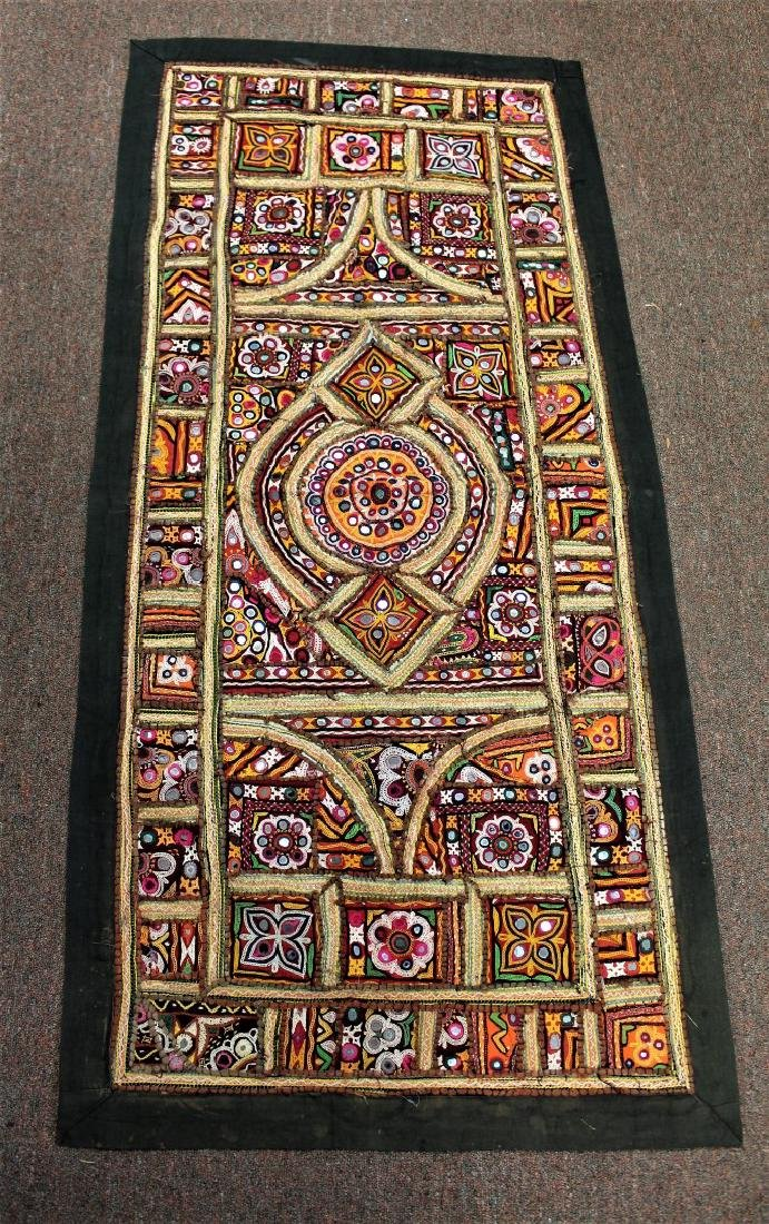 African Embroidered and Appliqued Textile