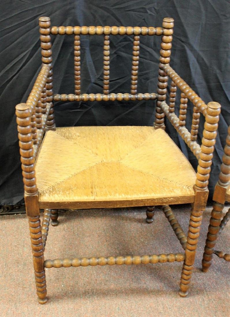 Two(2) Early Dutch Wood Chairs - 3