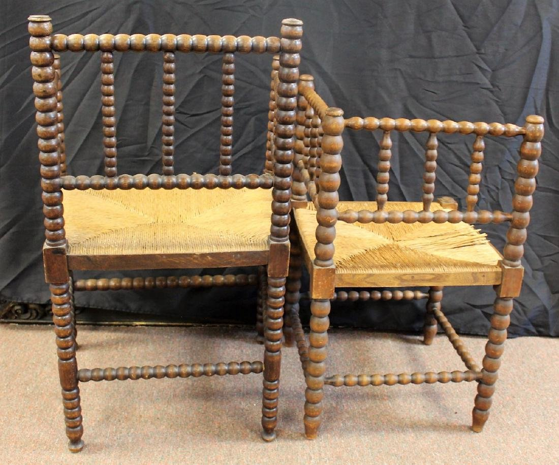 Two(2) Early Dutch Wood Chairs - 5