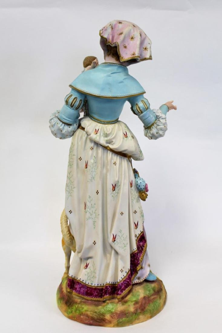 Bisque Porcelain Figural Grouping - 5