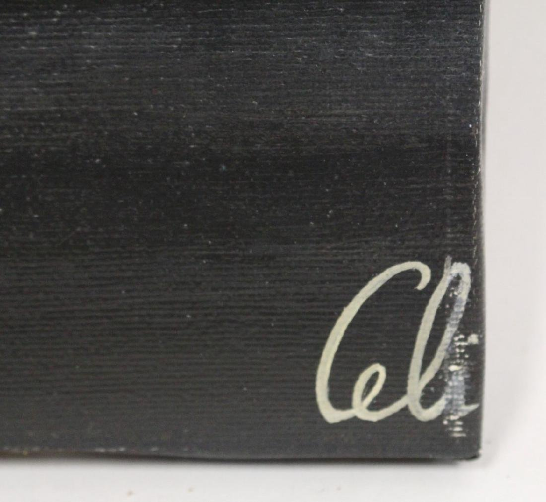 Salavator Celi; Italian Surrealist Oil Signed - 4