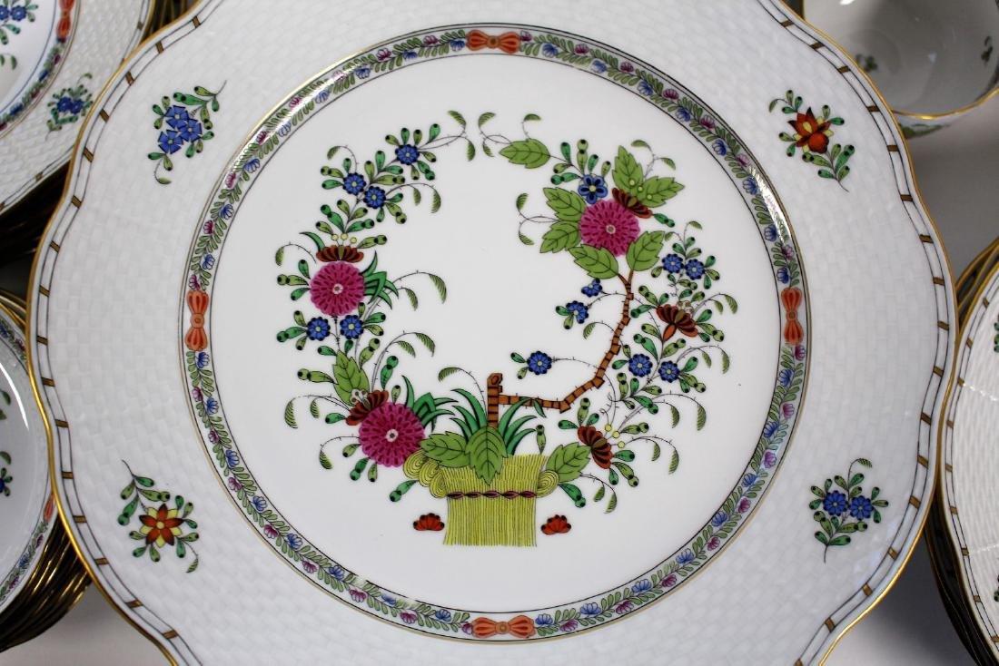 Set of Herend Porcelain Dinnerware(70+) - 5