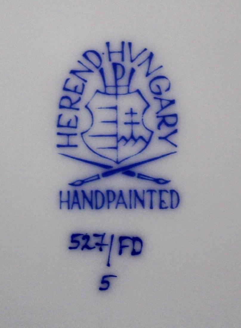 Set of Herend Porcelain Dinnerware(70+) - 6