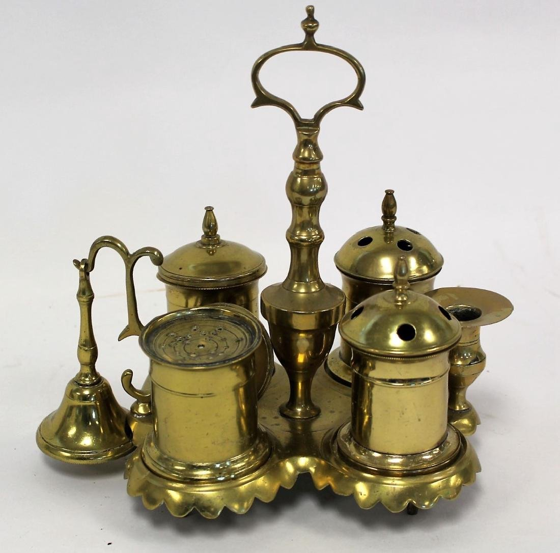 Unusual Continental Brass Censer