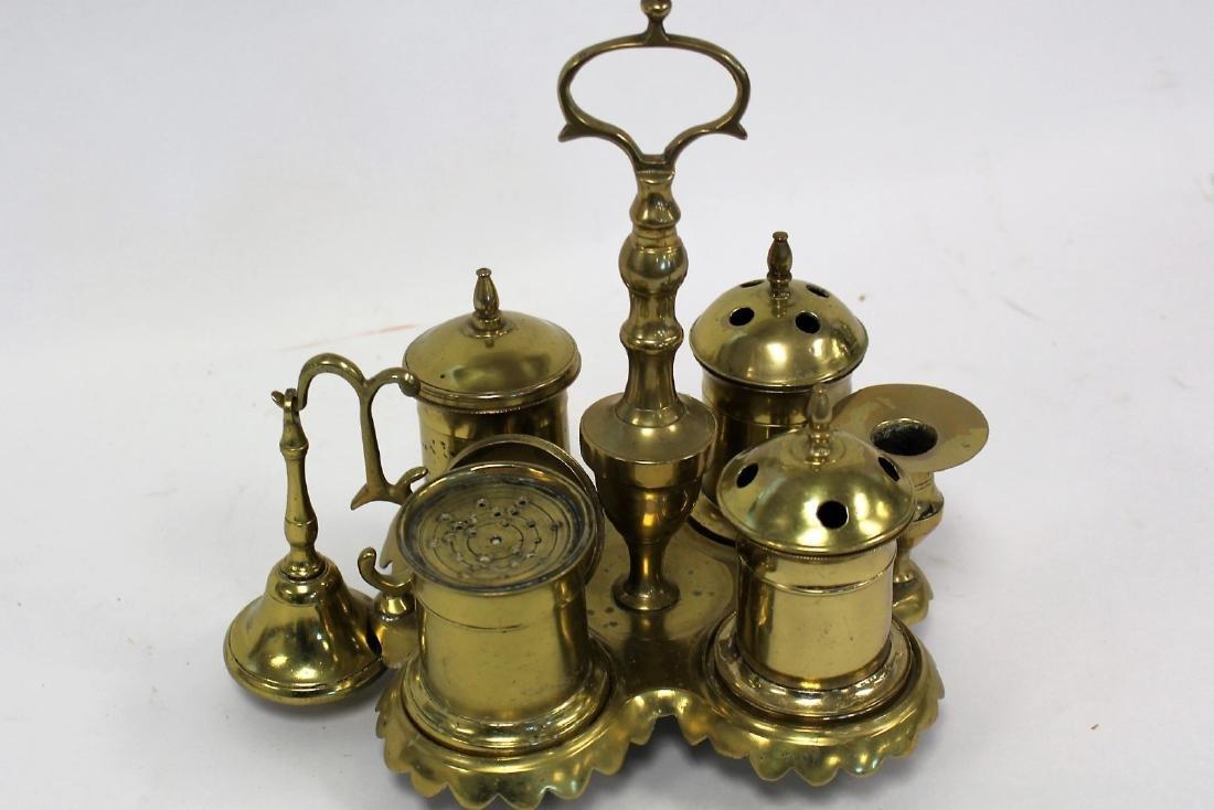 Unusual Continental Brass Censer - 2
