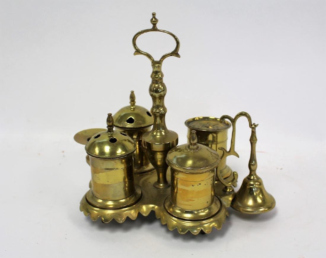Unusual Continental Brass Censer - 3