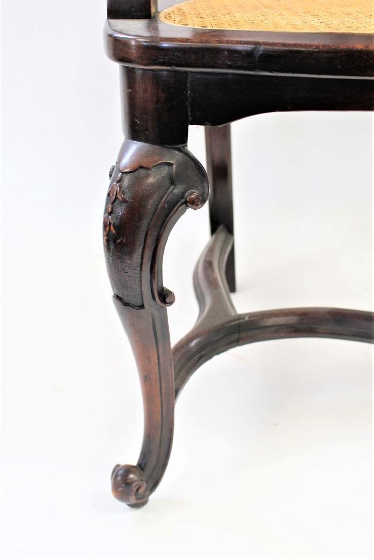 Georgian Mahogany Arm Chair - 5