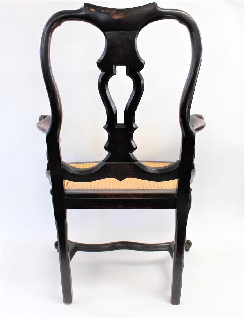 Georgian Mahogany Arm Chair - 6