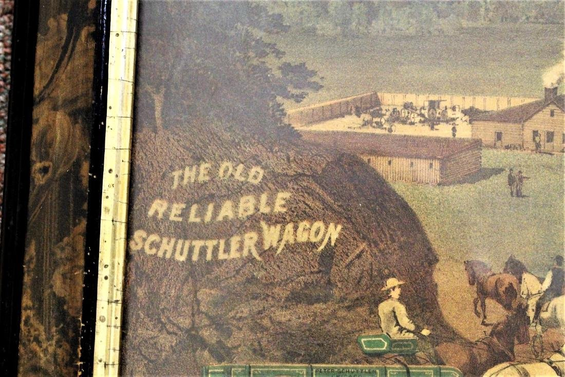 19thC. Chromolithograph Advertisement - Schuttler - 3