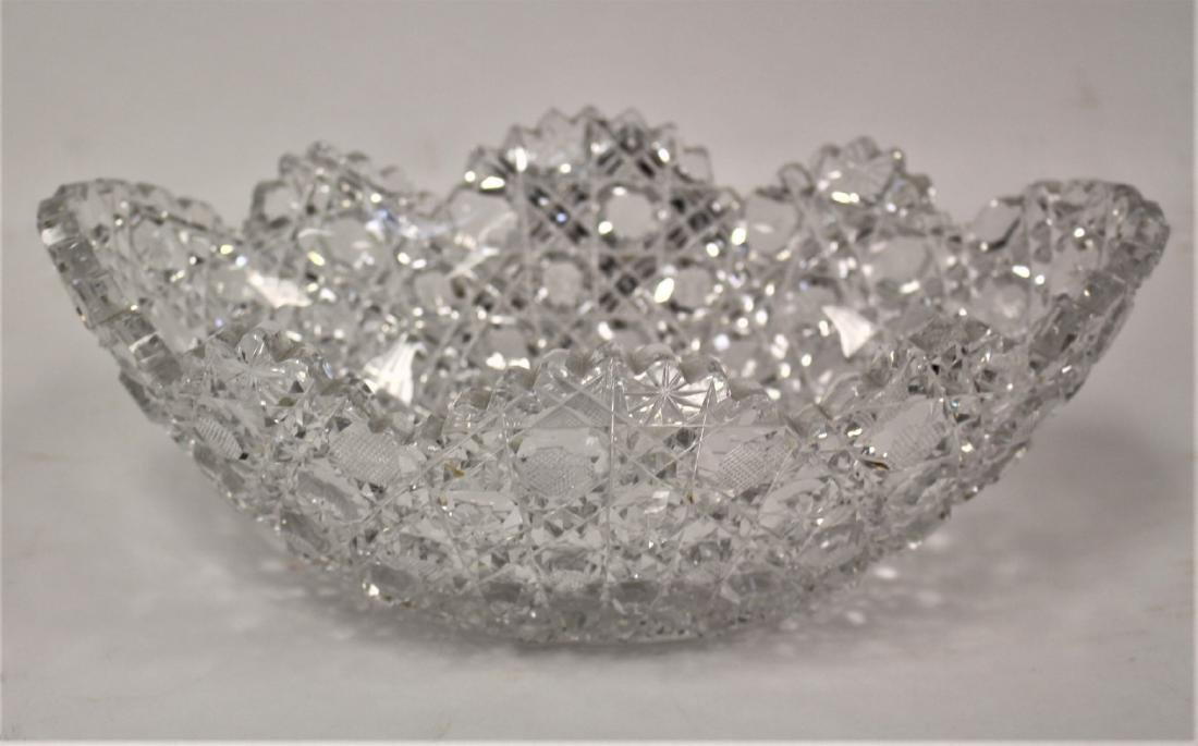 American Brilliant Cut Glass Bowl