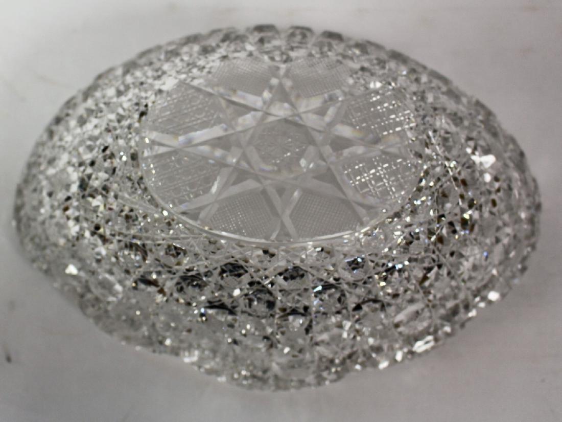 American Brilliant Cut Glass Bowl - 4