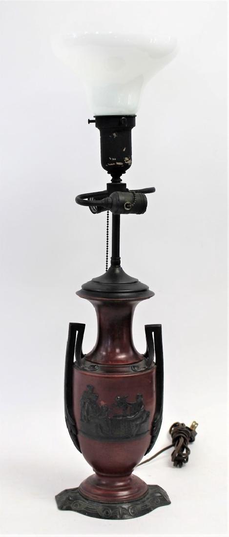 Grecian Bronzed Urn Lamp