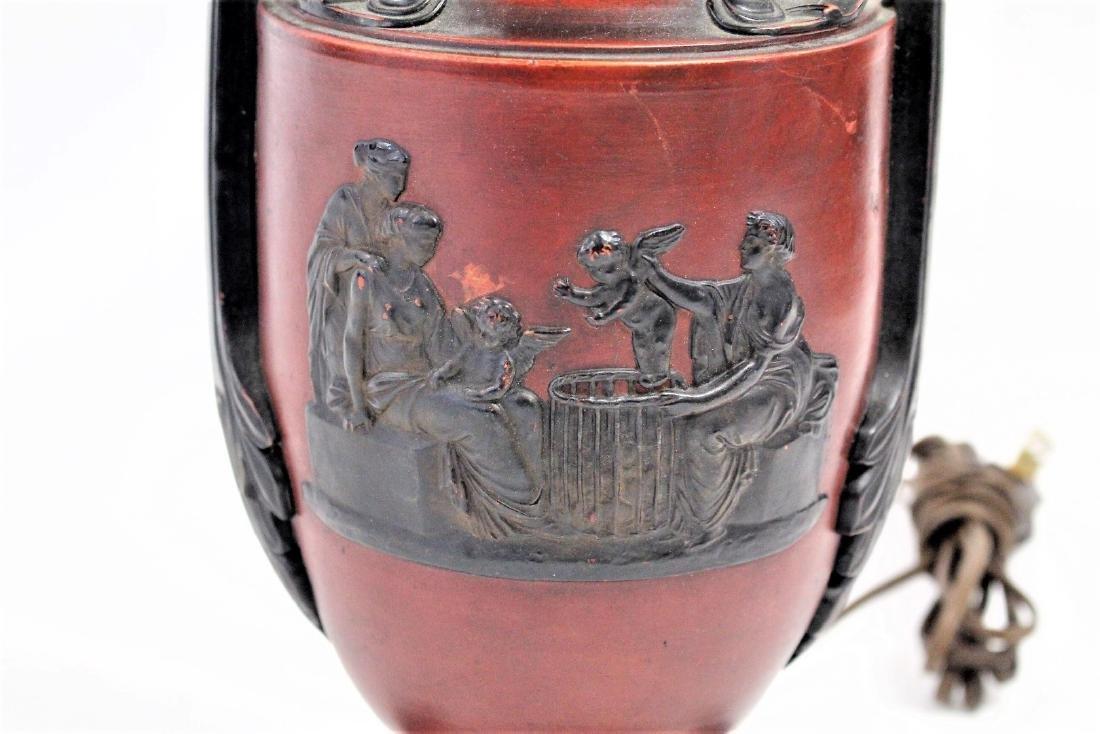 Grecian Bronzed Urn Lamp - 3