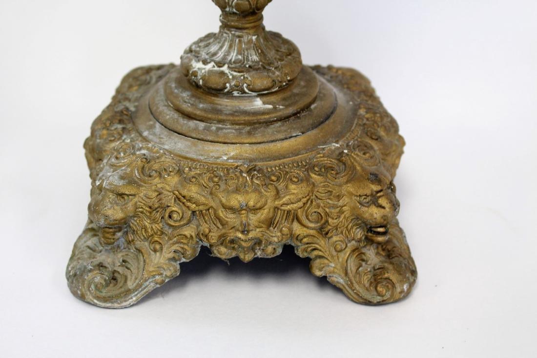 Fancy Victorian Banquet Lamp - 4