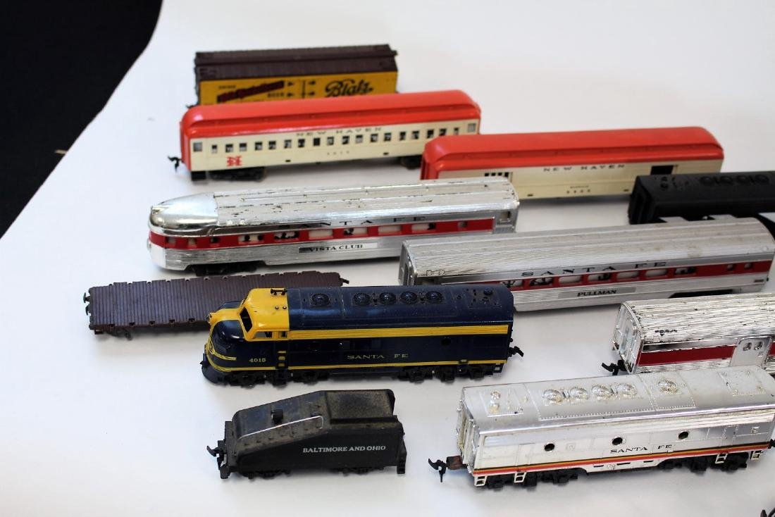 Lot of Vintage Toy Trains and Accessories - 2