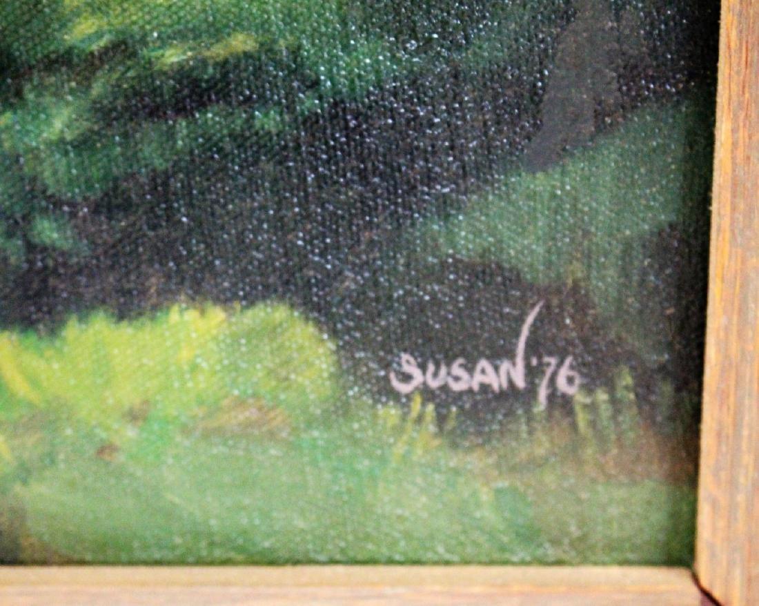 Susan Dorazio; 20thC. American Oil Signed - 3