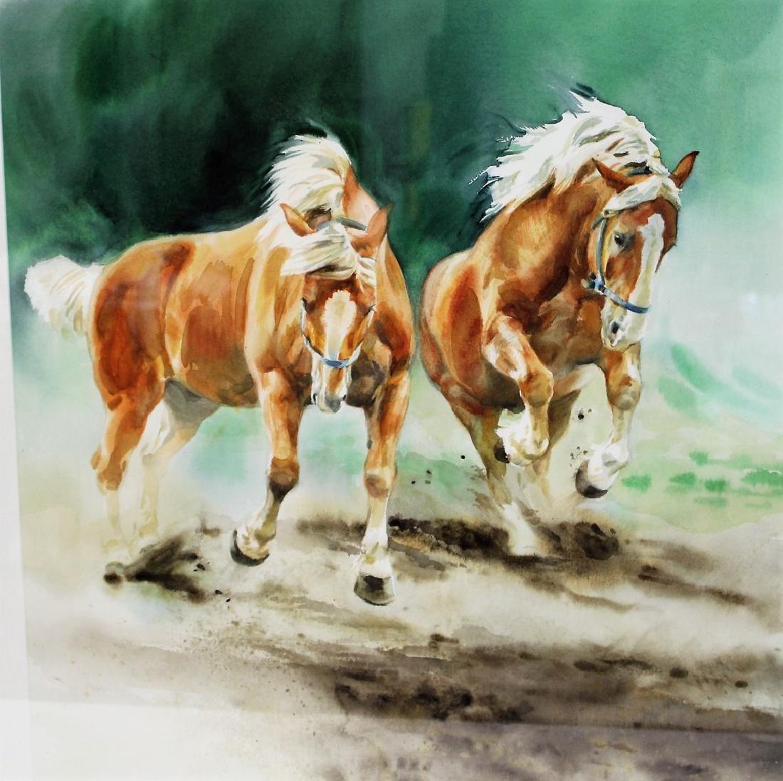 Susan Dorazio; American Watercolor Signed