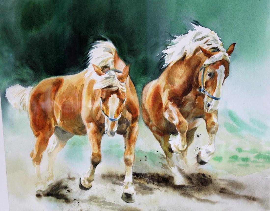 Susan Dorazio; American Watercolor Signed - 2