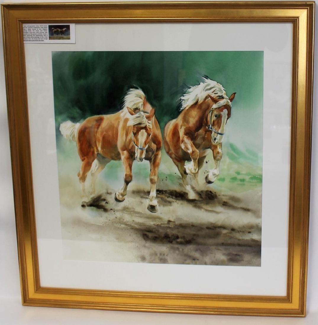Susan Dorazio; American Watercolor Signed - 3