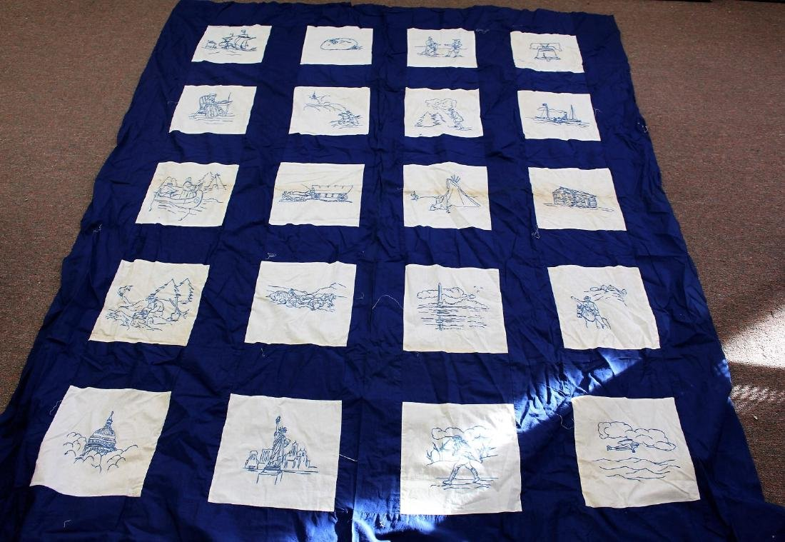 Lot of Estate Textiles(3) - 2