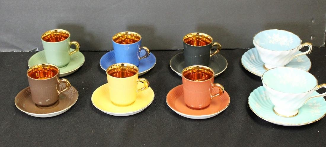 Lot of Miscellaneous Cups and Saucers(8)