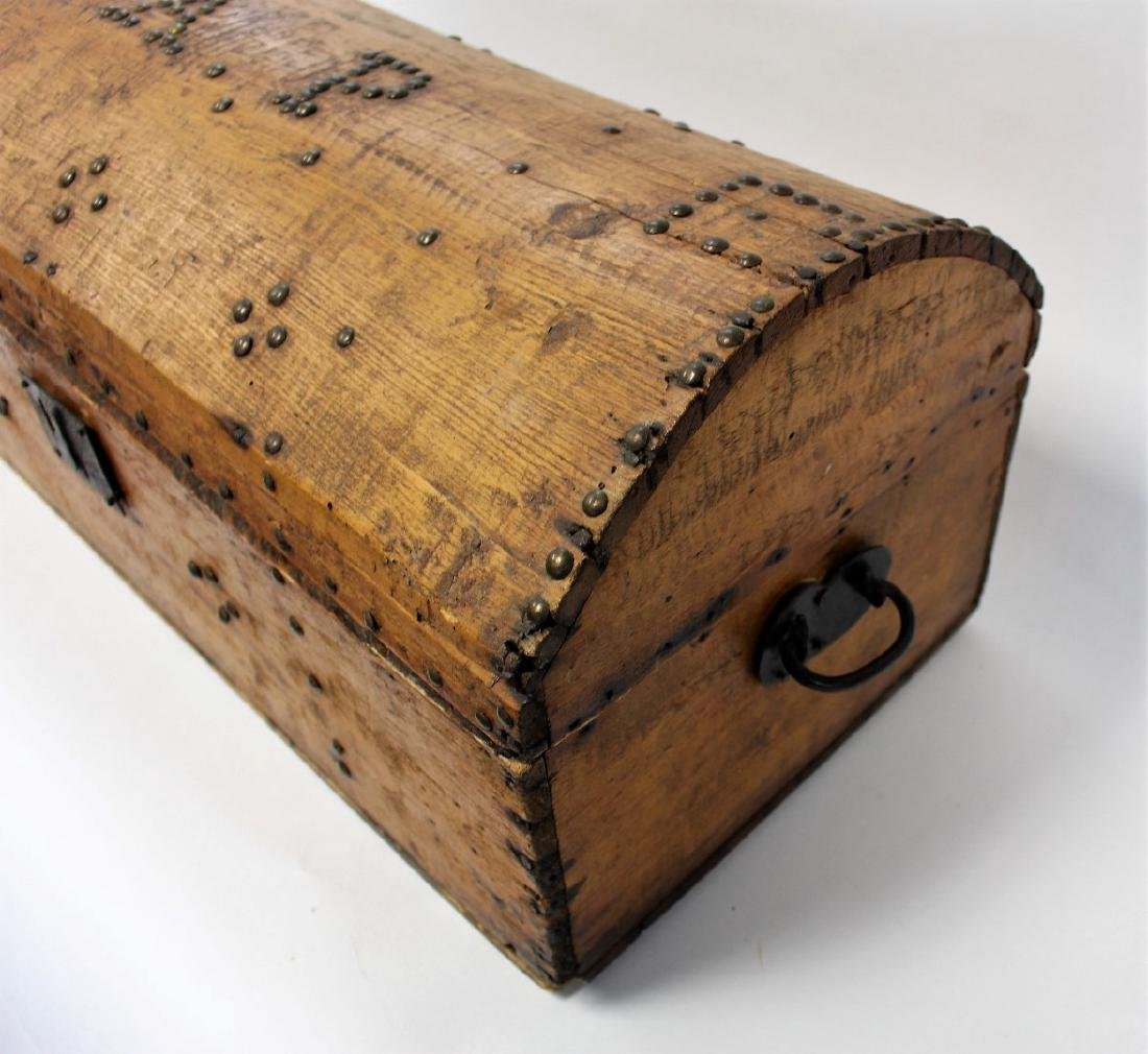 Early Pine Dome-Top Trunk - 3