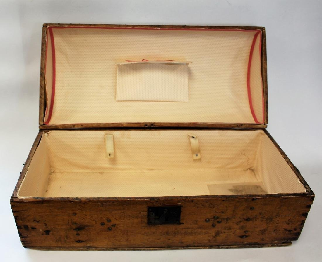Early Pine Dome-Top Trunk - 5