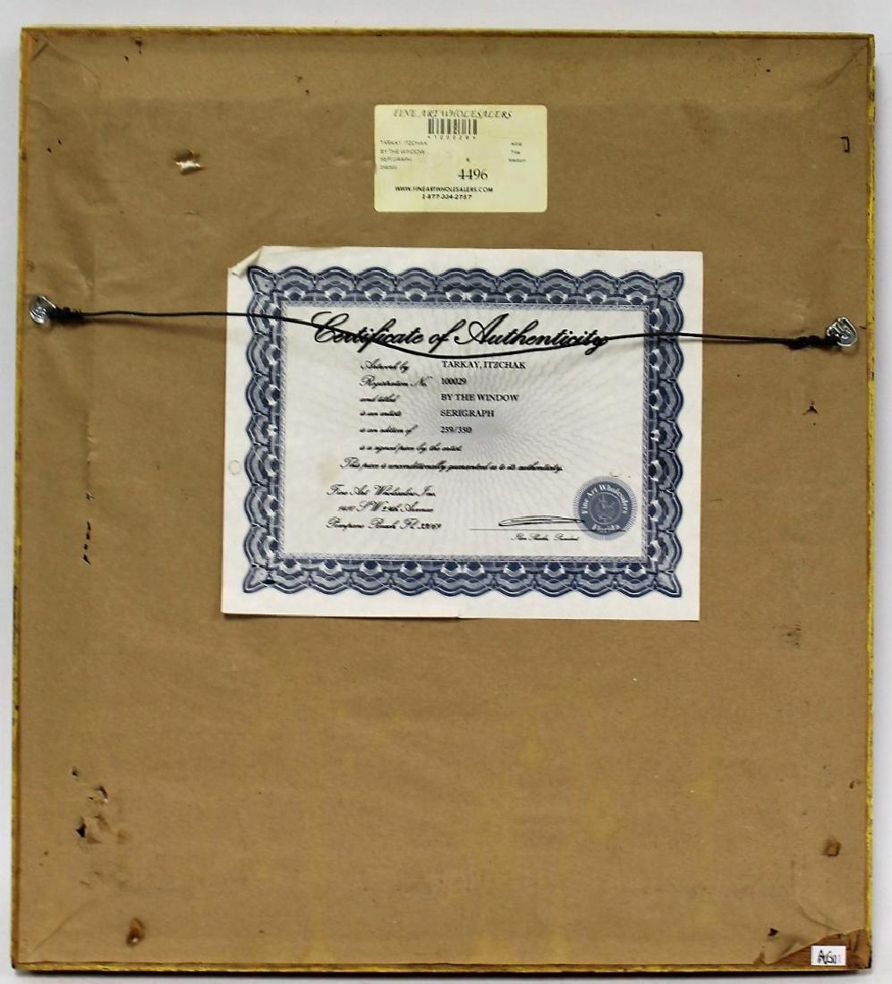Itzchak Tarkay; Framed Serigraph Signed - 4