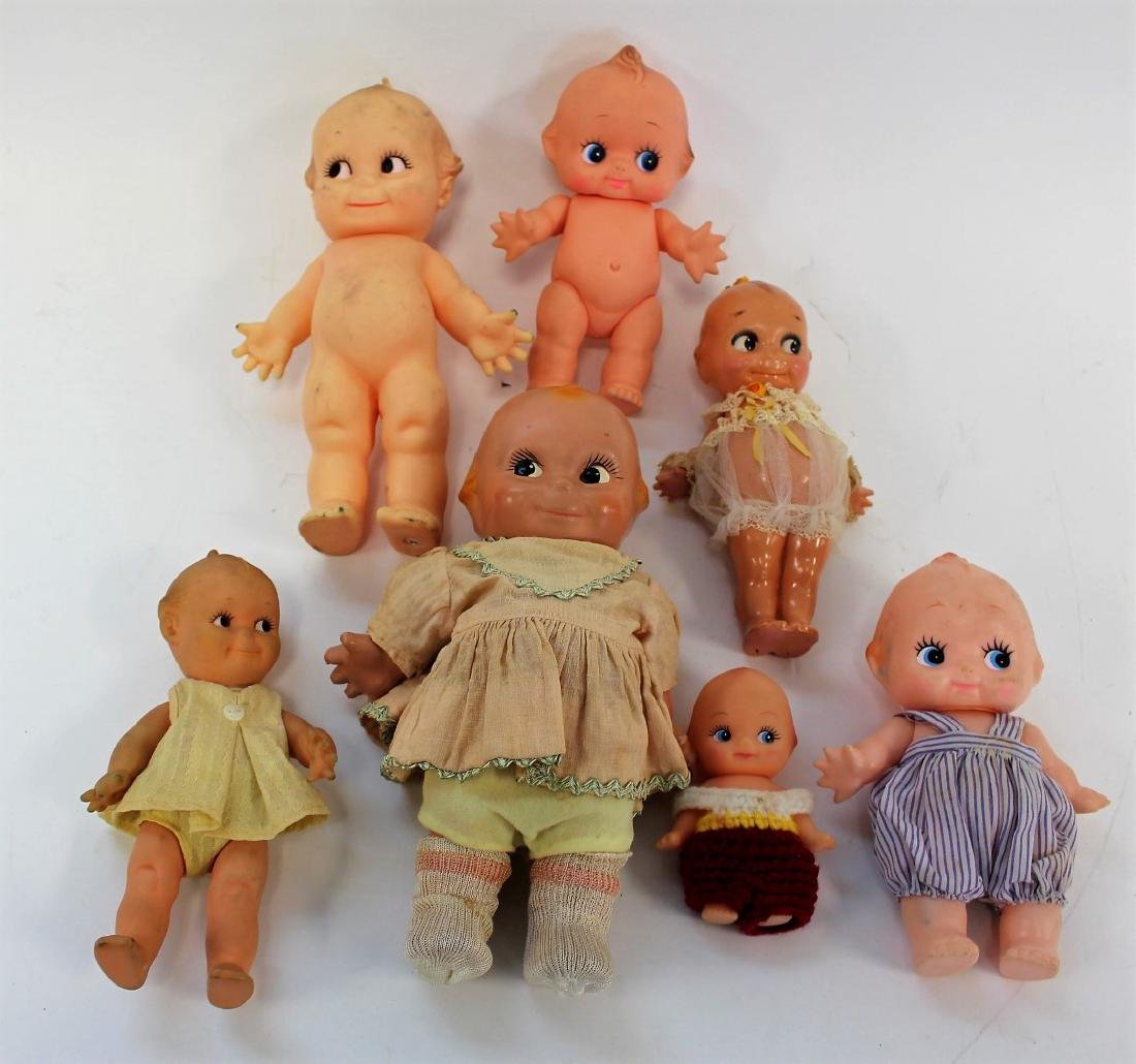 Lot of Miscellaneous Kewpie Dolls(7)