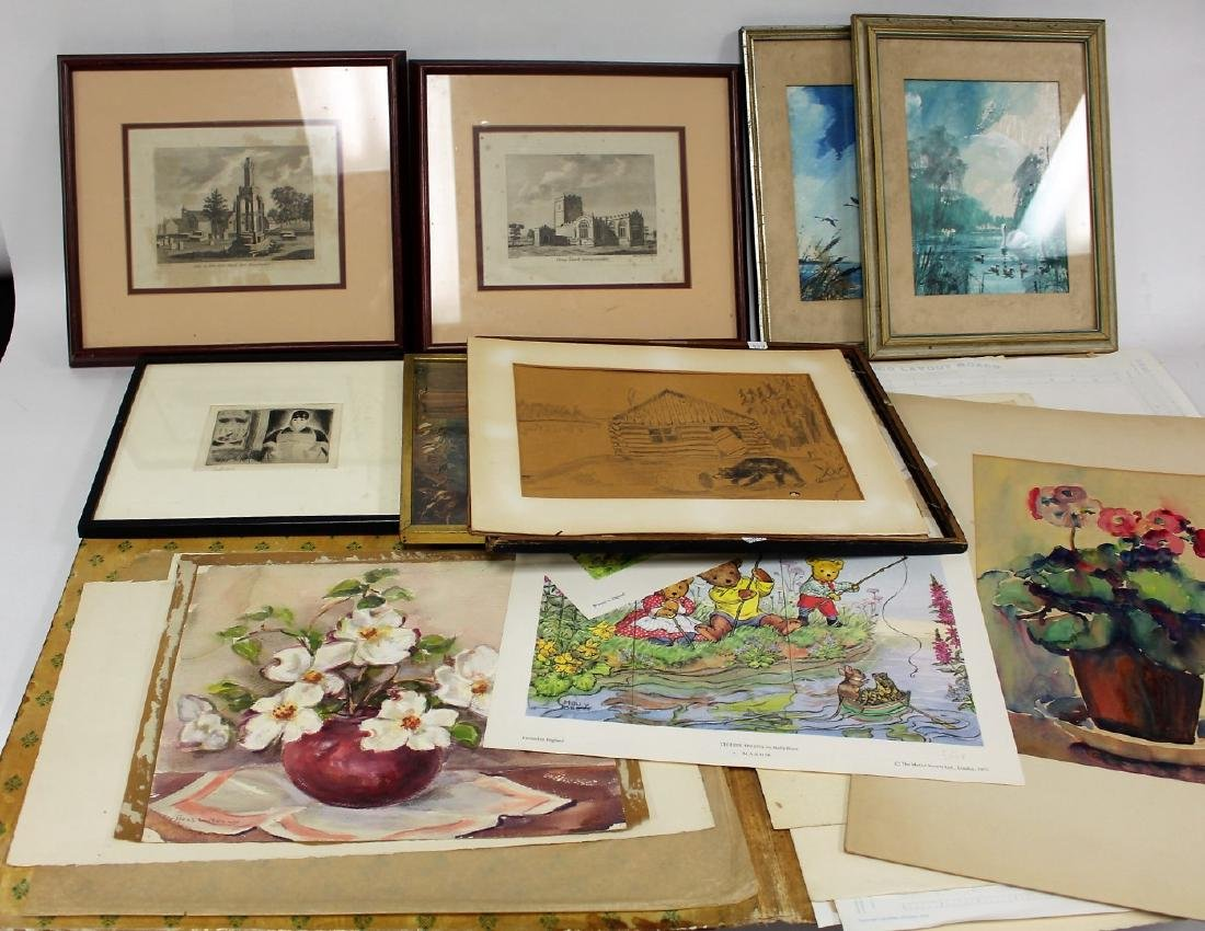 Lot of Miscellaneous Works of Art