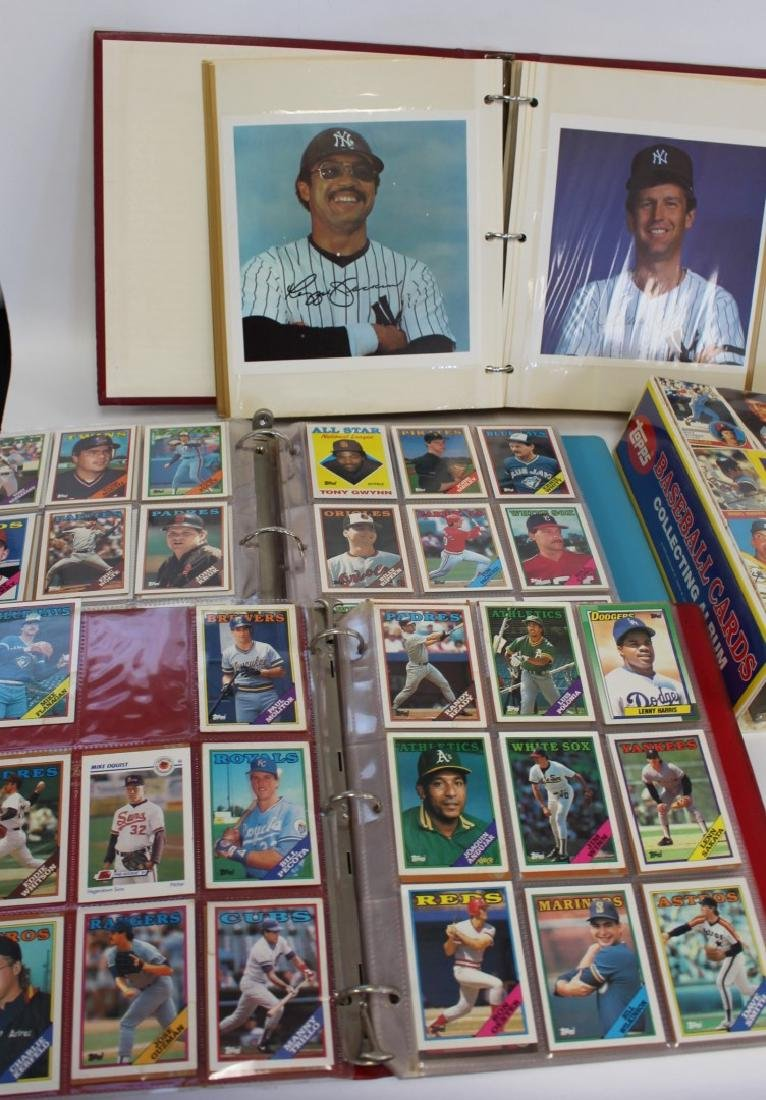 Lot of Miscellaneous Vintage Baseball Cards - 2