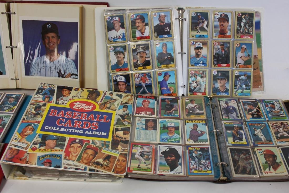 Lot of Miscellaneous Vintage Baseball Cards - 3