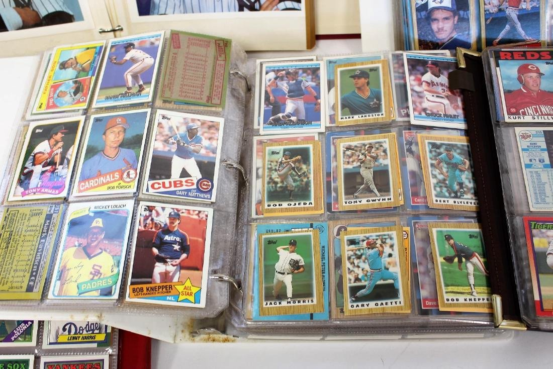 Lot of Miscellaneous Vintage Baseball Cards - 4