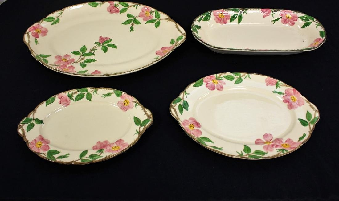 Four(4) Franciscan Porcelain Platters