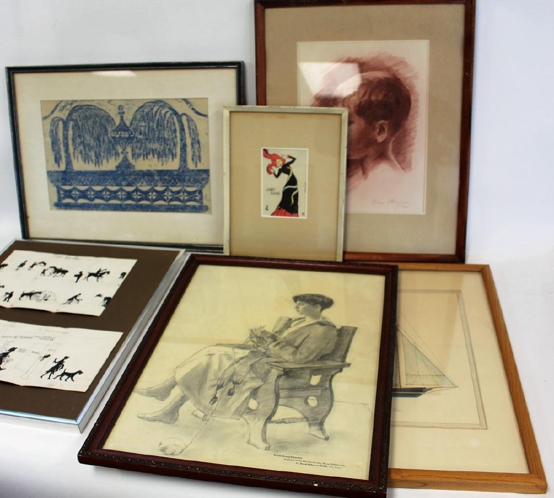 Lot of Miscellaneous Works of Art(6)