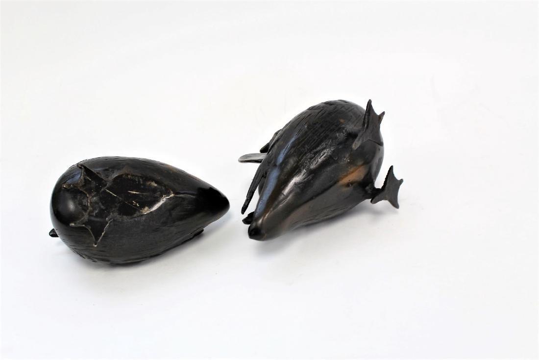 Two(2) Bronze Birds - 4