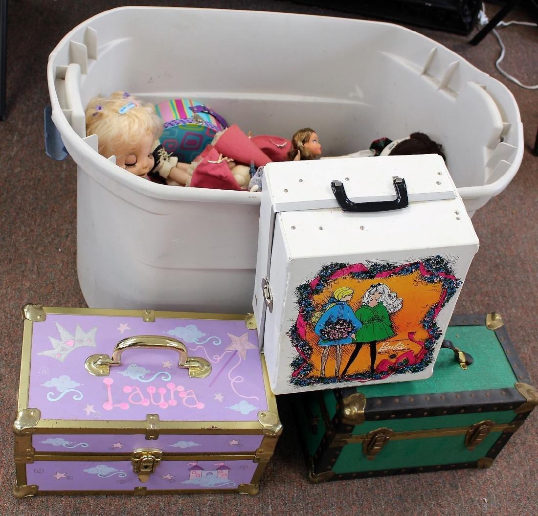 Lot of Miscellaneous Dolls, Etc.