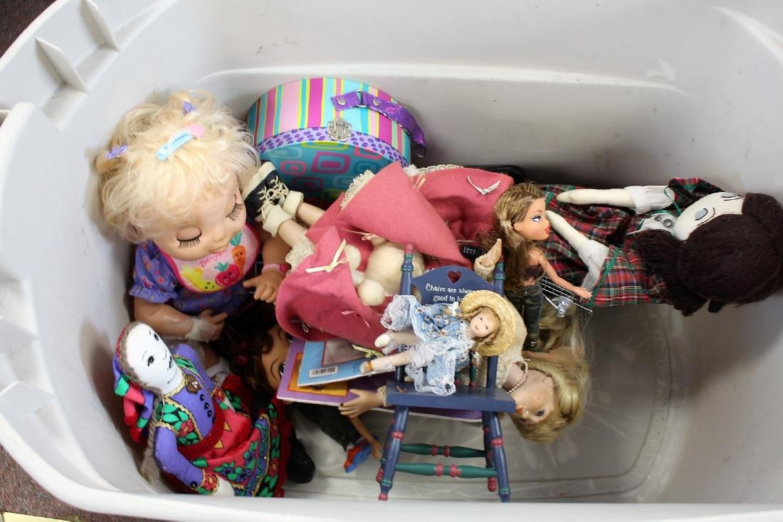 Lot of Miscellaneous Dolls, Etc. - 3