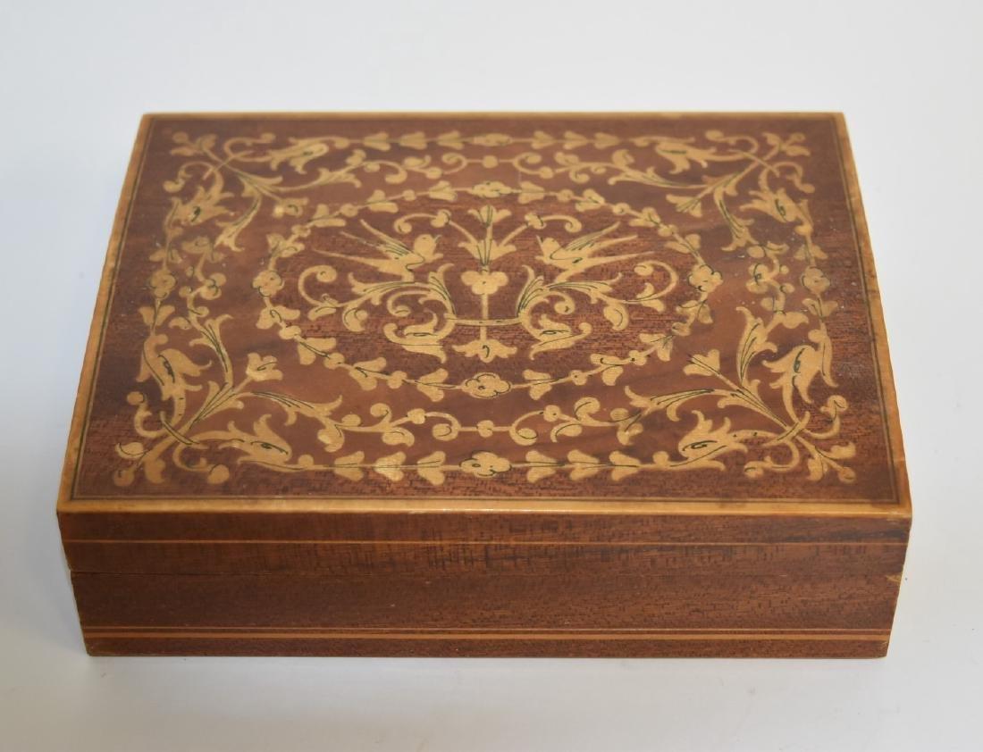 Satinwood Inlaid Wood Box