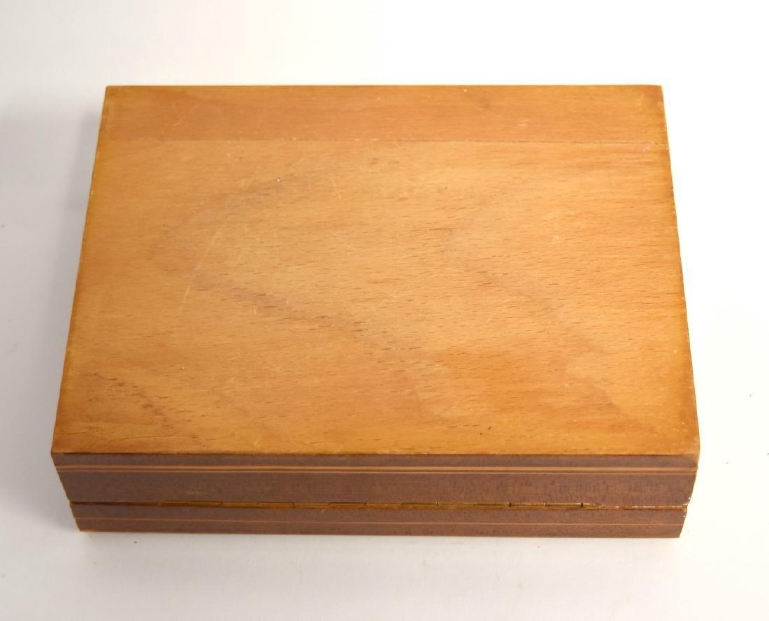 Satinwood Inlaid Wood Box - 6