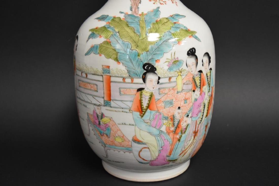 Chinese Porcelain Vase,  Republic Period - 4